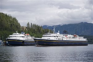 Costs add up for Alaska state ferry idled nearly 2 years