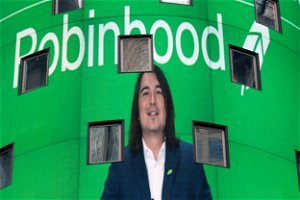 Robinhood shares fly again, soaring as much as 80%