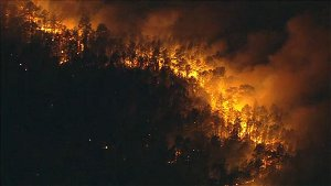 Crews battling second wildfire in South Jersey
