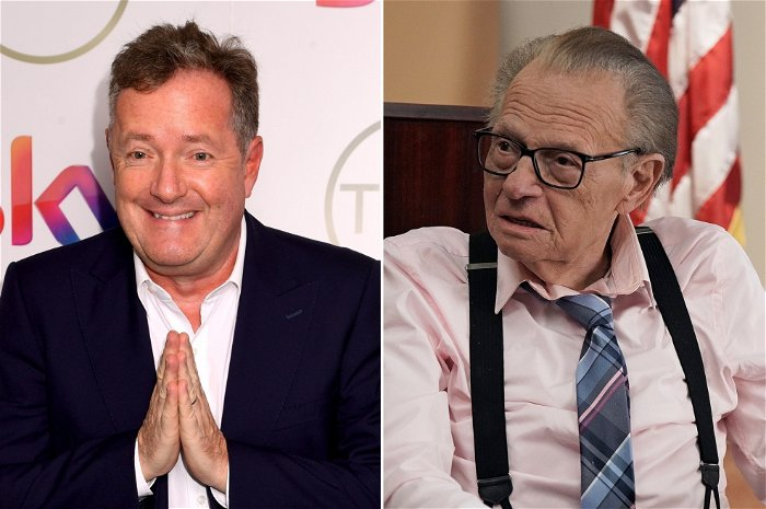 Piers Morgan faces backlash for jab-infused tribute to Larry King