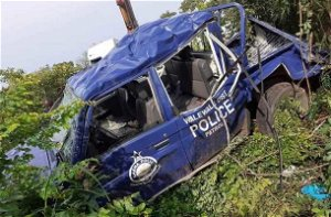 Walewale: One of 3 police officers involved in accident still in critical condition