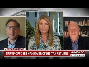 'We found a draft he couldn't dodge': Trump's failed legal strategy on his taxes roasted by legal expert