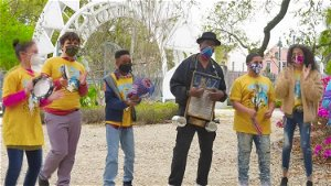 New Orleans musicians team up with children with autism to create music video