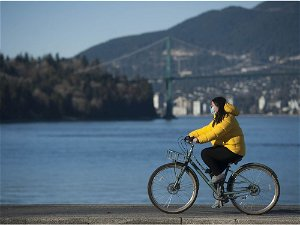 Vancouver Weather: Sunny and warm