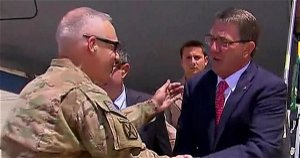 Defense secretary visits Baghdad to survey ISIS threat