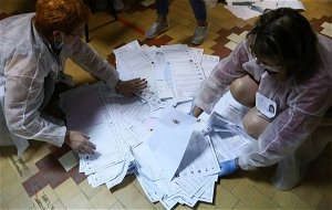 United Russia gets 42.92% of vote in State Duma elections with 20.06% of results counted