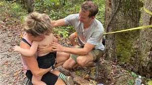 Boy, 4, survives fall off cliff while hiking with parents
