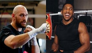 """Anthony Joshua reacts to Tyson Fury defeating Deontay Wilder in trilogy: """"He's done well to come through the storm"""""""