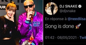 DJ Snake Teases Collaboration With BLACKPINK's Lisa In Now-Deleted Twitter Posts