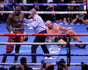 Tyson Fury's trainer reveals reaction to Deontay Wilder knockdown