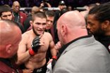"Khabib Nurmagomedov contradicts Dana White's comments: ""Fights are not in these plans"""