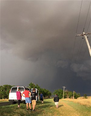 BBC film crew to chase tornadoes with OHIO professor Houser