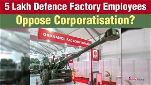 'We Fight for Defence Factories to Secure Our Nation'