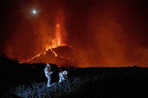 Volcanic eruption in the Canary Islands, no sign of early termination = Prime Minister