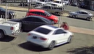 Video: Violent Carjacking From Richmond Auto Dealership; Worker Hurled From Hood Attempting To Stop Thief