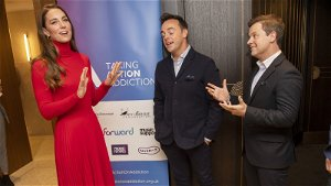 Duchess of Cambridge talks addiction with Ant and Dec at campaign launch warning 'it can happen to anyone'