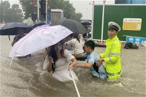 A China Subway Flood Survivor's Harrowing Experience: 'I May Not Be Able to Get Out'