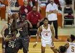 Shorthanded Texas men's basketball team upset by rival Oklahoma