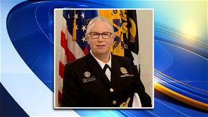 Rachel Levine sworn in as first openly transgender four-star officer in health corps