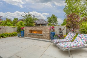 Light up your backyard with standout fire features