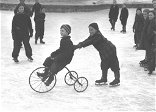 Skating, Duke Ellington, fish and snow: Historic photos of January in Portland over 80 years ago