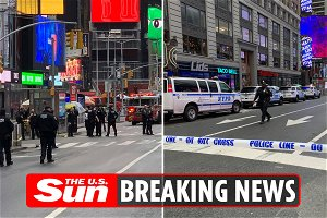 Reports: Woman, toddler shot in NYC Times Square