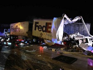 I-80/94 crash seriously injures truck driver near Lake Station, causing delays, Indiana State Police say