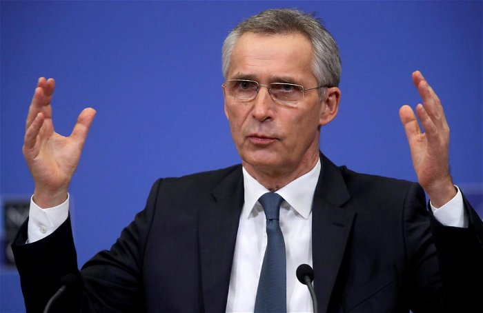 NATO's Afghanistan withdrawal depends on violence levels, Stoltenberg says