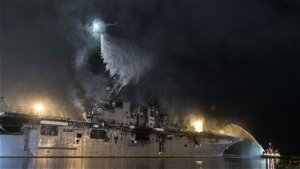Sailor charged in ship fire was Navy SEAL dropout