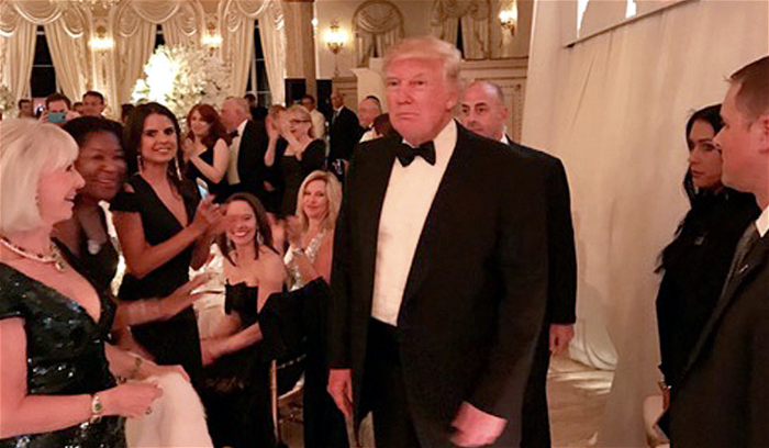 'He'll show up to anything': Trump wanders into Mar-a-Lago events in search of adulation, report claims