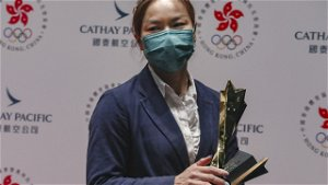 Cyclist Sarah Lee in tears after delayed Hong Kong Sports Stars Awards win