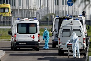 Russia Reports Record Daily Number Of COVID Deaths