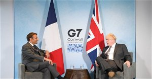 EXCLUSIVE Macron offers UK's Johnson: 'Le reset' if he keeps his Brexit word