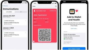 Apple Wallet now allows users to add COVID-19 vaccine card