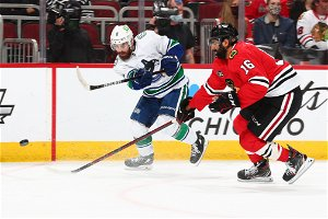 Blackhawks Remain Winless As They Lose To Vancouver; Patrick Kane Saluted For 1,000th Game