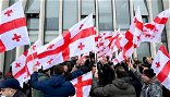 Police In Tbilisi Brawl With Opposition Activists, Detain Several Protesters