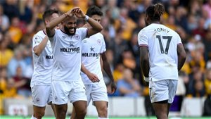 Toney shines in Brentford's 2-0 win at Wolves in EPL