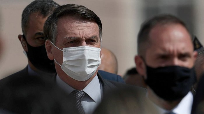 Bolsonaro dismisses being labeled 'genocidal' as daily COVID-19 deaths in Brazil top 4,000