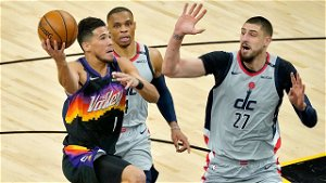 Devin Booker scores 27 points, Suns rout Wizards 134