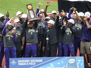 Dominating performaces, which produced six wins, helped LSU men's track and field team to NCAA title