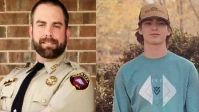 Ex-deputy charged with manslaughter in white teen's death