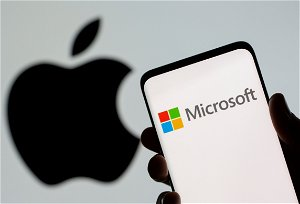 Microsoft nearly overtakes Apple as most valuable company