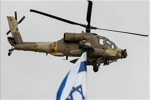 Report: Israeli helicopter strike on Syria wounds 1 person