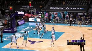 Alex Caruso with a buzzer beater vs the Charlotte Hornets