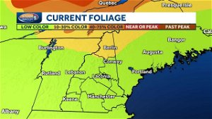 New Hampshire foliage map: Some colors begin emerging in northern NH