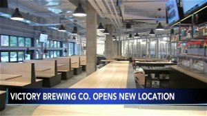 Victory Brewing Company opens historic taproom in Philadelphia