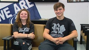 Robbinsville twins push each other in pursuit of wrestling titles
