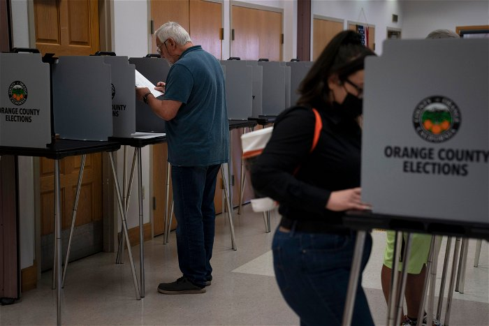 California Republican turnout not high enough to boot Newsom