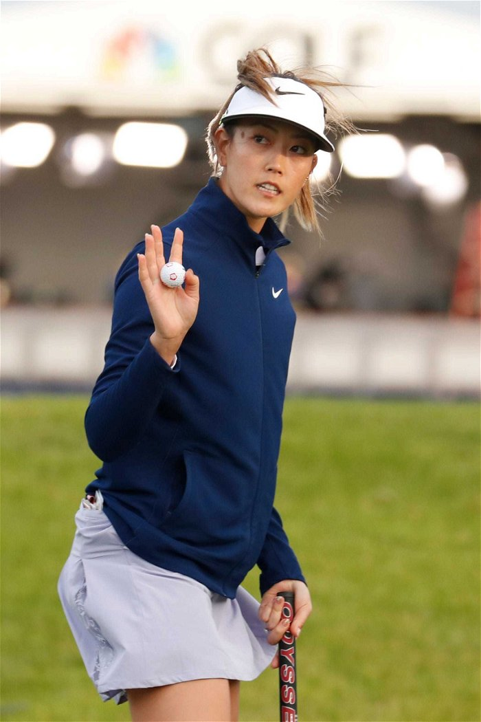 Michelle Wie hits back at Rudy Giuliani over crass story on Bannon podcast