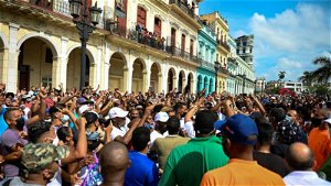 Cuban Street Protester Sentenced to 10 Years in Prison